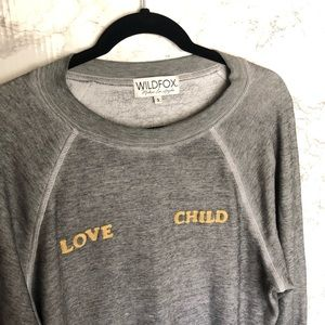 Wildfox Love Child Sommers Sweater Size- Small
